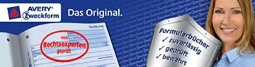 Avery Zweckform 201 Haushaltsbuch (DIN A5, mit Jahresübersicht, 36 Blatt) weiß - 8