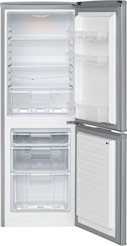 Bomann KG 320 Kühl-Gefrier-Kombination / A++ / 163 kWh/Jahr / 112 L Kühlteil / 48 L Gefrierteil / silber - 4
