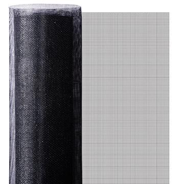 casa pura® Fliegengitter für Fenster und Türen | Zuverlässiger Insektenschutz aus Fiberglas mit Vinyl-Beschichtung | Farbe schwarz | in 2 Längen und 4 Breiten verfügbar (3m x 1m) - 3
