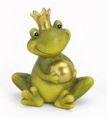 Dekofigur Frosch Froschkönig - 1