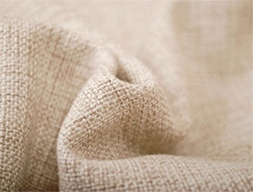 Elviros Dekorativ Baumwoll Leinen Mix Kissenbezug 45 x 45cm - 2