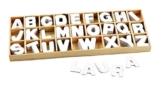 Holz-Buchstabensortiment - 1