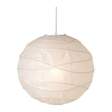 """IKEA Hängeleuchte """"REGOLIT"""" Japankugel 45cm Durchmesser Papierlampe - 1"""