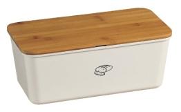 Kesper 18090 Brotbox Melamin Bambus, weiß - 1
