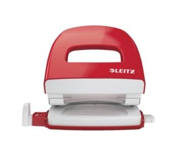 Leitz 50080025 Bürolocher NeXXt, Metall, 30 Blatt, rot - 2