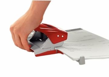 Leitz 50080025 Bürolocher NeXXt, Metall, 30 Blatt, rot - 6