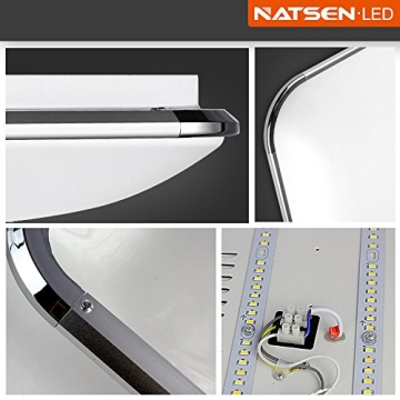 Natsen® Moderne LED Deckenlampe Wohnzimmer Lampe I503Y-50W voll dimmbar (650mm*650mm / 50W)lieferbar - 5