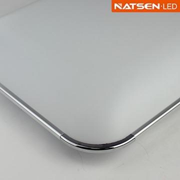 Natsen® Moderne LED Deckenlampe Wohnzimmer Lampe I503Y-50W voll dimmbar (650mm*650mm / 50W)lieferbar - 6