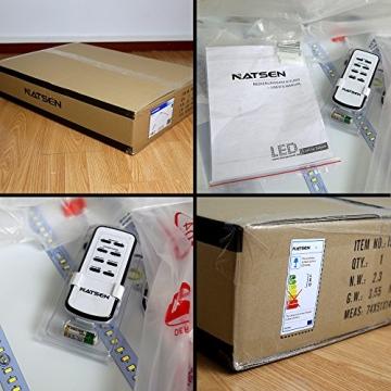 Natsen® Moderne LED Deckenlampe Wohnzimmer Lampe I503Y-50W voll dimmbar (650mm*650mm / 50W)lieferbar - 7