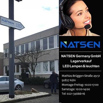 Natsen® Moderne LED Deckenlampe Wohnzimmer Lampe I503Y-50W voll dimmbar (650mm*650mm / 50W)lieferbar - 8