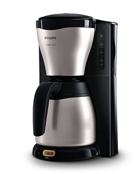 Philips HD7546/20 Gaia Filter-Kaffeemaschine mit Thermoskanne, schwarz/metall - 1