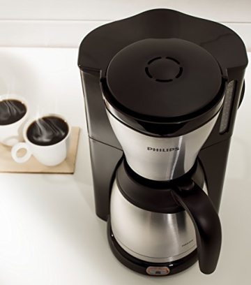 Philips HD7546/20 Gaia Filter-Kaffeemaschine mit Thermoskanne, schwarz/metall - 3