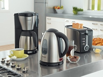 Philips HD7546/20 Gaia Filter-Kaffeemaschine mit Thermoskanne, schwarz/metall - 9