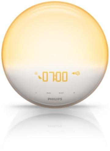 Philips HF3520/01 Wake-Up Light (Sonnenaufgangfunktion, digitales FM Radio) weiß - 10