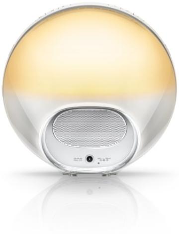 Philips HF3520/01 Wake-Up Light (Sonnenaufgangfunktion, digitales FM Radio) weiß - 3