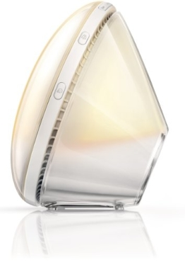Philips HF3520/01 Wake-Up Light (Sonnenaufgangfunktion, digitales FM Radio) weiß - 4