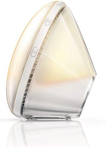 Philips HF3520/01 Wake-Up Light (Sonnenaufgangfunktion, digitales FM Radio) weiß - 4
