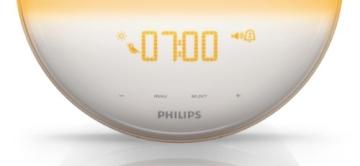 Philips HF3520/01 Wake-Up Light (Sonnenaufgangfunktion, digitales FM Radio) weiß - 8