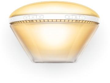 Philips HF3520/01 Wake-Up Light (Sonnenaufgangfunktion, digitales FM Radio) weiß - 9