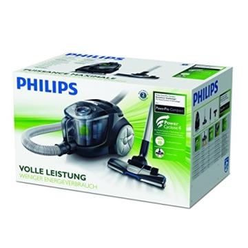Philips PowerPro Compact FC8477/91 Staubsauger ohne Beutel EEK B (EPA10 Filter), grau - 10