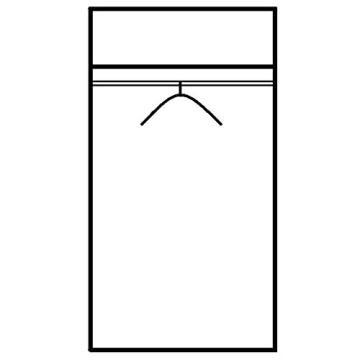ROLLER Drehtürenschrank JOJO - weiß - 85 cm breit - 3