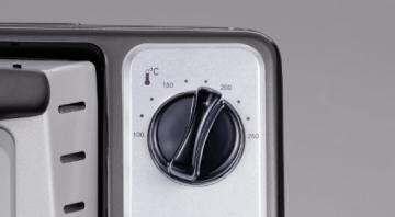 Severin TO 2034 Toastofen / ca. 1500 Watt / 20 Liter Garraum / schwarz-silber - 8