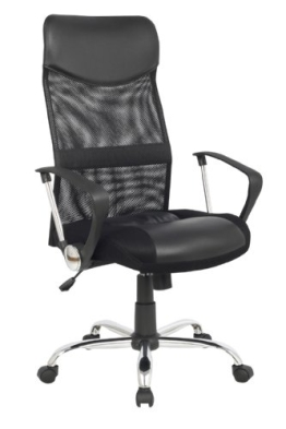SixBros. Chefsessel Bürostuhl Schreibtischstuhl Drehstuhl Schwarz - H-935-6/1319 - 2