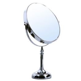 Songmics® 10 fach Kosmetikspiegel 8 inch Schminkspiegel doppelseitiger Standspiegel BBM006 - 1