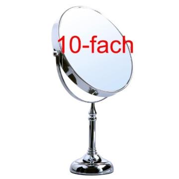 Songmics® 10 fach Kosmetikspiegel 8 inch Schminkspiegel doppelseitiger Standspiegel BBM006 - 2