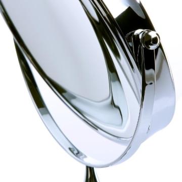 Songmics® 10 fach Kosmetikspiegel 8 inch Schminkspiegel doppelseitiger Standspiegel BBM006 - 8