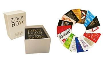 Zitate-Box: 200 Zitate im Postkartenformat - 8